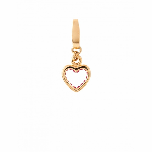 Pink Inner Heart Mini Charm - Style Spartina 449