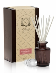 Pomegranate Sage Reed Diffuser Set by Aquiesse | Reed Diffuser Sets by Aquiesse
