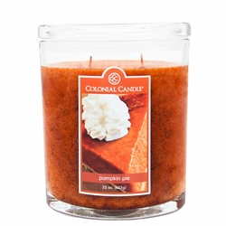Pumpkin Pie 22 oz. Oval Jar Colonial Candle