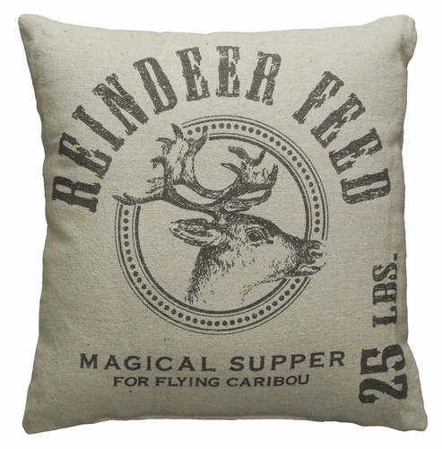 Reindeer Feed Pillow - Primitives by Kathy