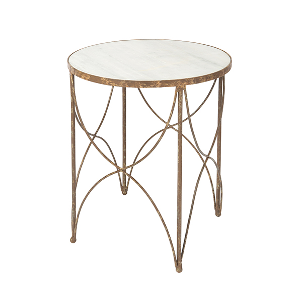 Rustic Storm Halmstad Side Table By Aidan Gray