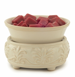 Sand Stone Ceramic Fragrance Warmer with Dish