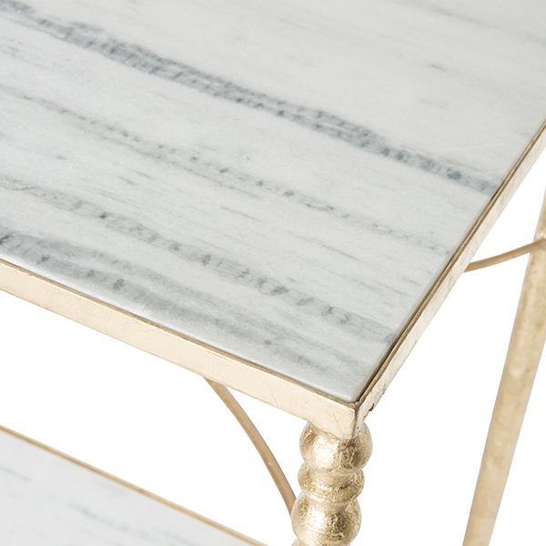 Sangallo Marble Top Console Table By Aidan Gray