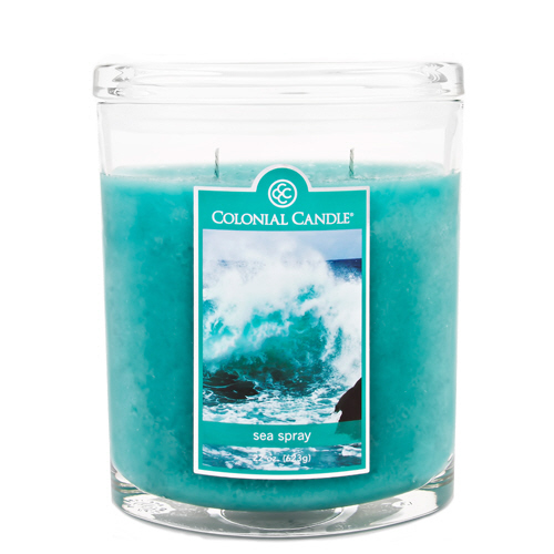 Sea Spray 22 oz. Oval Jar Colonial Candle