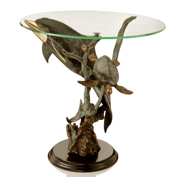 Sealife Table - Art Finish - SPI Home (Special Order)