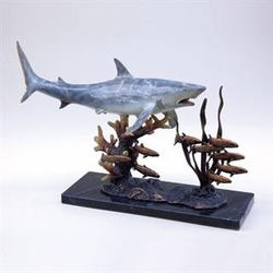 Shark with Prey - SPI Home (Special Order)