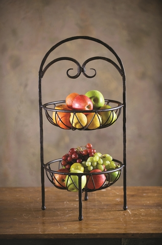 Siena 2-Tier Fruit Stand by Bella Toscana