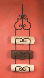 Siena Triple Towel Rack by Bella Toscana