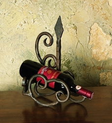 Siena Wine Bottle Cradle by Bella Toscana