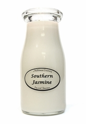 Southern Jasmine 8 oz. Milkbottle Candle by Milkhouse Candle Creamery