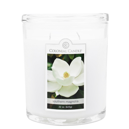 Southern Magnolia 22 oz. Oval Jar Colonial Candle