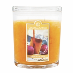 Spiced Apple Toddy 22 oz. Oval Jar Colonial Candle