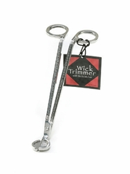 Stainless Steel Silver Wick Trimmer by Wickman