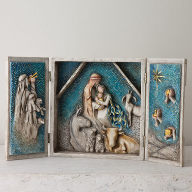 Starry Night Nativity by Willow Tree