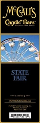 State Fair McCall's Candle Bar | Candle Bars by McCall's