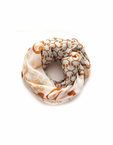 Sullivan's Flourish Scroll Scarf by Spartina 449