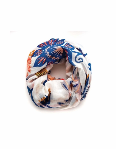 Sullivan's Hibiscus Scarf by Spartina 449