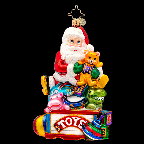 Toys For Chris : Toys for all ornament by christopher radko