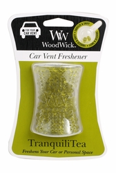TranquiliTea WoodWick Car Vent Freshener | Discontinued & Seasonal WoodWick Items!