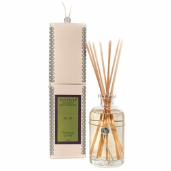 Tuscan Olive Aromatic Reed Diffuser Votivo Candle | Aromatic Collection Reed Diffuser Votivo Candle