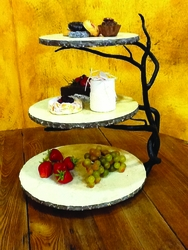 Twig 3-Tier Server by Bella Toscana