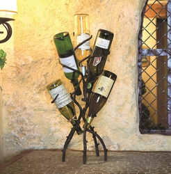 TEMPORARILY OUT OF STOCK - Twig 5-Bottle Wine Tree by Bella Toscana