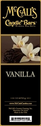 Vanilla McCall's Candle Bar | Candle Bars by McCall's