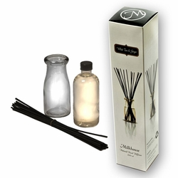 White Tea & Ginger Reed Diffuser by Milkhouse Candle Creamery | Reed Diffusers by Milkhouse Candle Creamery