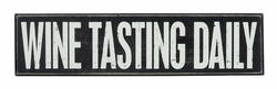 Wine Tasting Box Sign - Primitives by Kathy