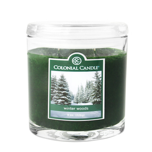Winter Woods 8 oz. Oval Jar Colonial Candle