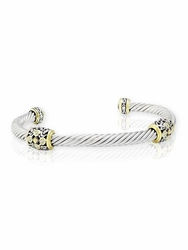 Filigree Twist Wire Station Bracelet by John Medeiros