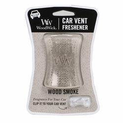 Wood Smoke WoodWick Car Vent Freshener | Discontinued & Seasonal WoodWick Items!