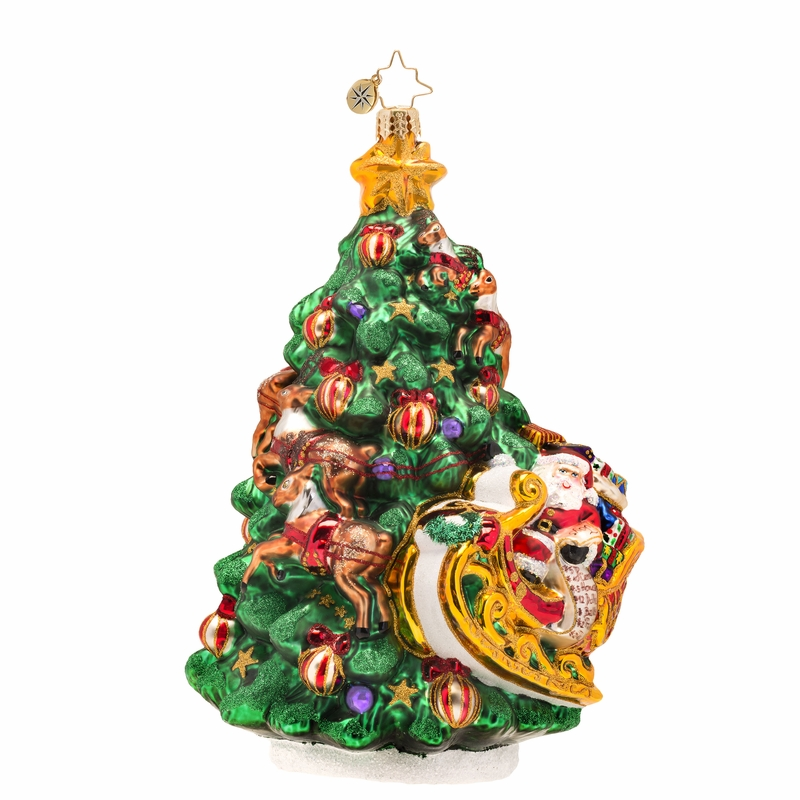 Wrappin 39 Around Ornament By Christopher Radko