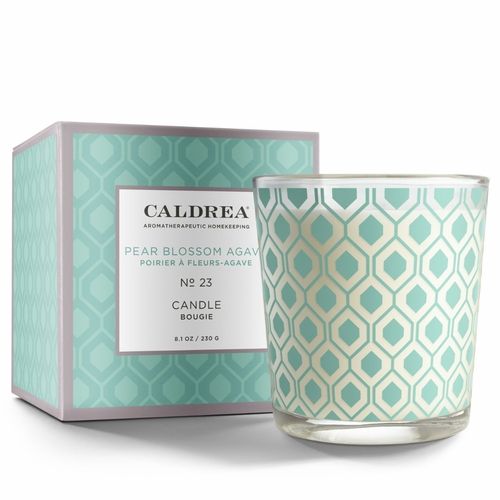 No. 23 Pear Blossom Agave 8.1 oz. Candle by Caldrea