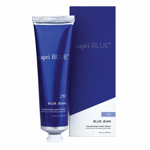 No. 26 Blue Jean 3.4 oz. Signature Collection Hand Cream by Capri Blue