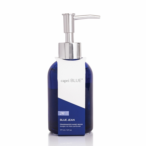 No. 26 Blue Jean 6 oz. Signature Collection Hand Soap by Capri Blue