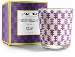 No. 26 Lavender Cedar Leaf 8.1 oz. Candle by Caldrea