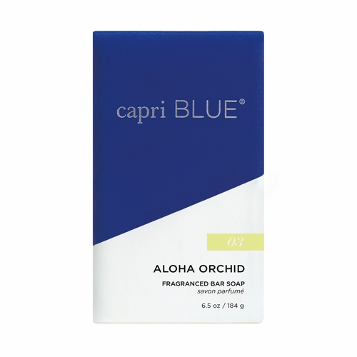 No. 3 Aloha Orchid 6.5 oz. Signature Collection Bar Soap by Capri Blue