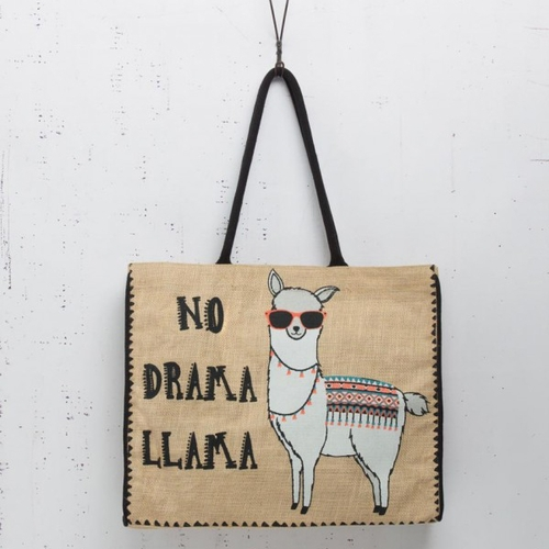 No Drama Market Bag by Mona B