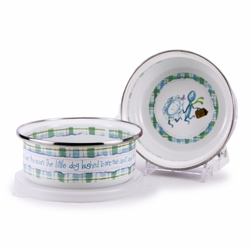 Nursery Rhyme Child Bowl with Lid by Golden Rabbit