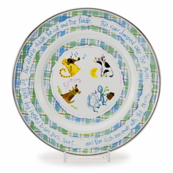 Nursery Rhyme Child Plate by Golden Rabbit