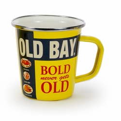 Old Bay 16 oz. Latte Mug by Golden Rabbit