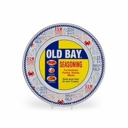 Old Bay Dinner Plate by Golden Rabbit