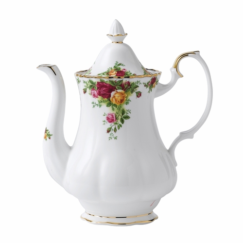 Old Country Roses Coffee Pot by Royal Albert - Special Order
