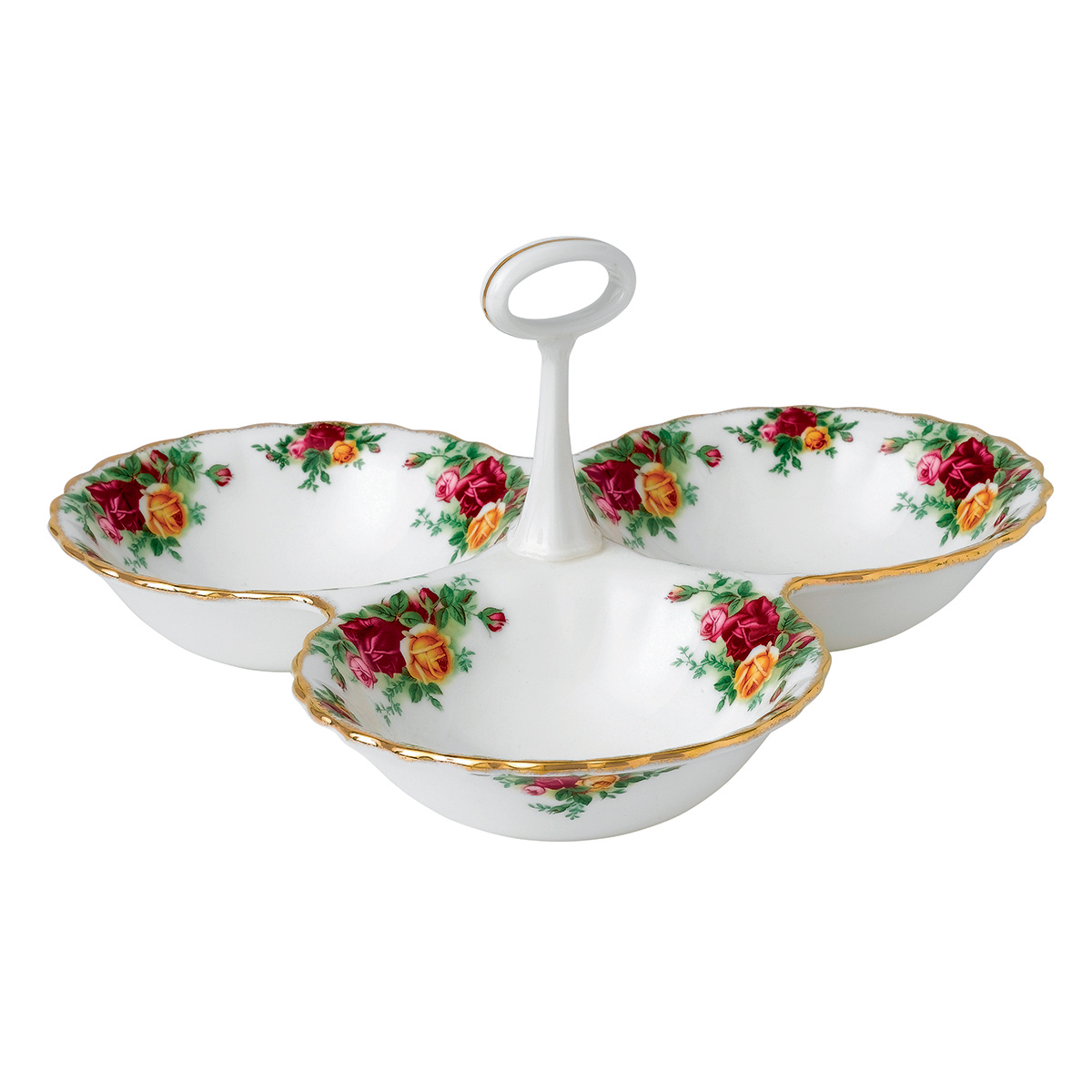 Old Country Roses Divided Tray By Royal Albert