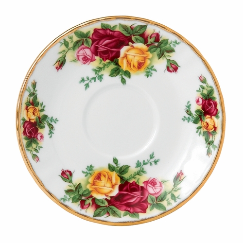 Old Country Roses Espresso Saucer by Royal Albert - Special Order