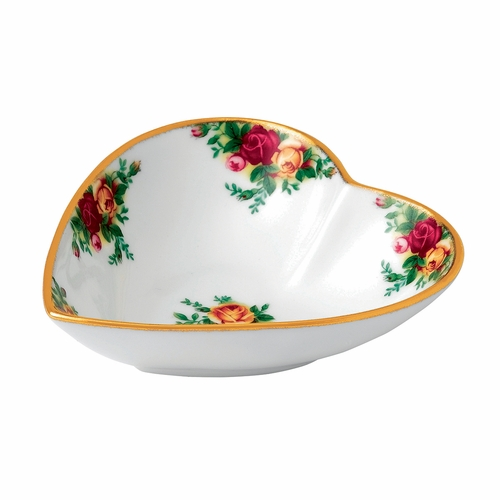 Old Country Roses Heart Tray by Royal Albert - Special Order