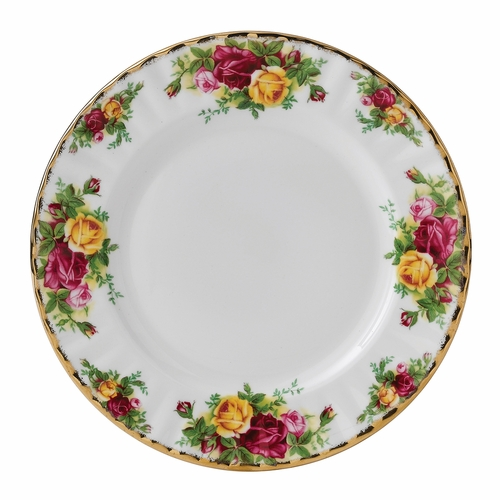 Old Country Roses Salad Plate by Royal Albert - Special Order
