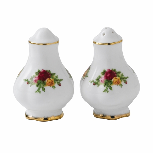 Old Country Roses Salt & Pepper Shakers by Royal Albert
