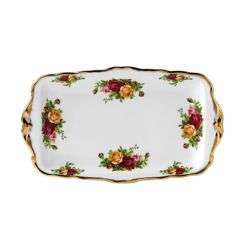 Old Country Roses Sandwich Tray by Royal Albert - Special Order